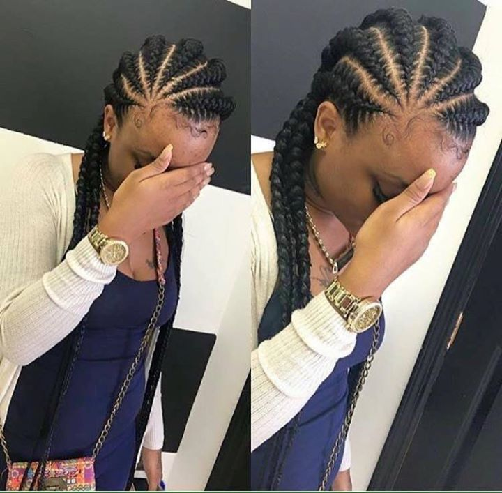 Fulani Braids Los Angeles Lemonade Brais Mohawk